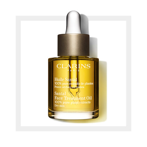 Olejek Pielęgnacyjny do Twarzy do Cery Suchej | Santal Face Treatment Oil
