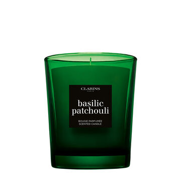 Perfumowana Świeczka o Zapachu Bazylii i Paczuli