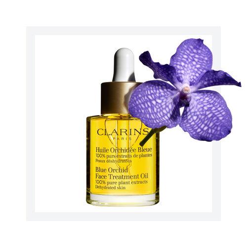 Olejek Pielęgnacyjny do Twarzy do cery odwodnionej   Blue Orchid Face Treatment Oil