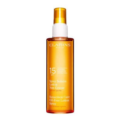 Emulsja do Opalaniaw Sprayu UVA/UVB 15   Sunscreen Oil-Free Lotion Spray