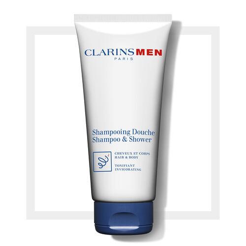 Żel pod Prysznic do Ciała i Włosów | ClarinsMen Shampoo & Shower