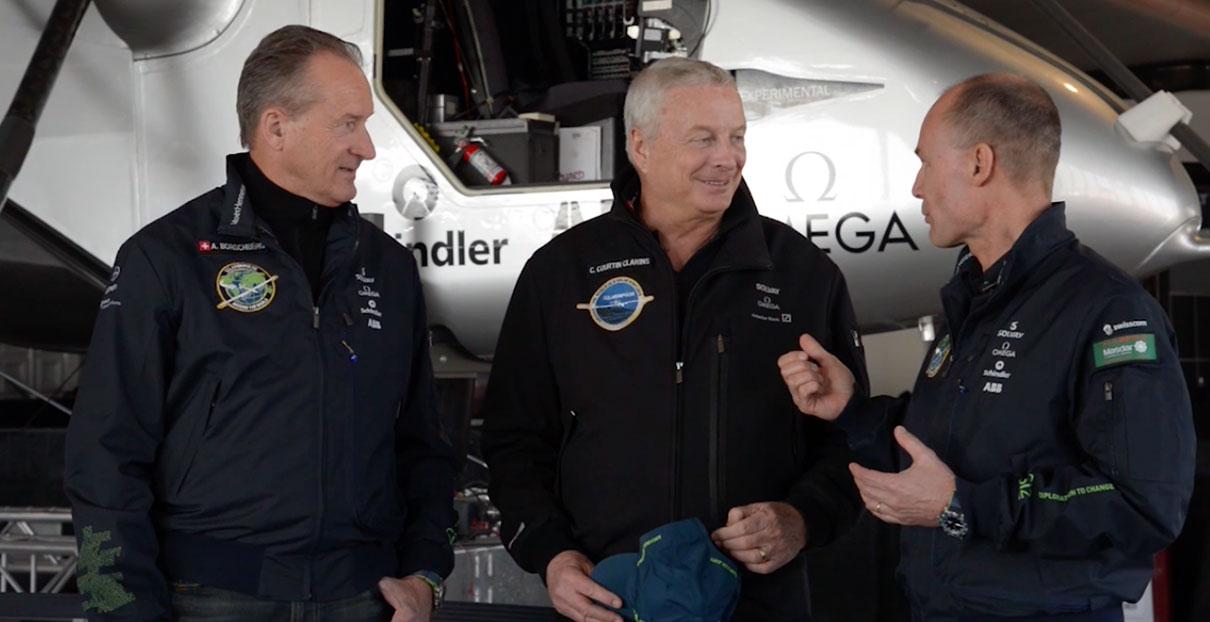 wideo Solar Impulse et Clarins #FutureIsClean: razem dla czystej przyszłości.