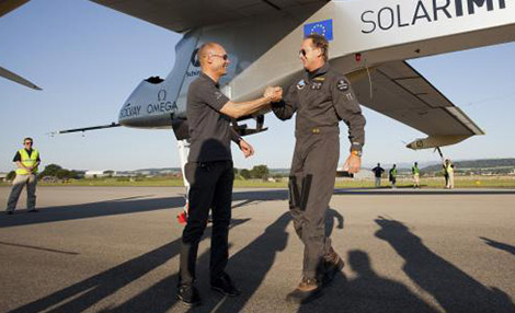 Piloci Solar Impulse 2: