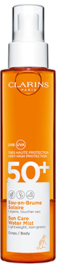 Olejek do opalania ciala w sprayu UVA/UVB SPF 50