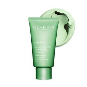 Maska Oczyszczająca SOS Pure z zieloną glinką